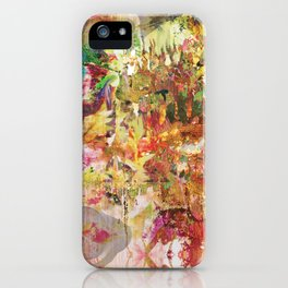 Floral Frenzy iPhone Case