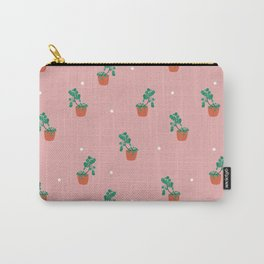 Pilea pattern Carry-All Pouch
