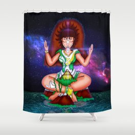 Star Connector Shower Curtain