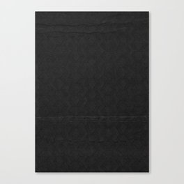black pattern Canvas Print
