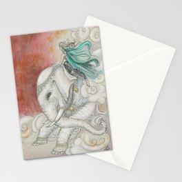 Climbing Ganesha Stationery Cards