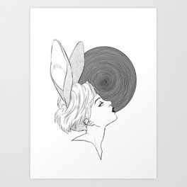 In the hole Art Print
