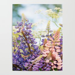 Summer Meadow Bouquet #decor #society6 #homedecor Poster