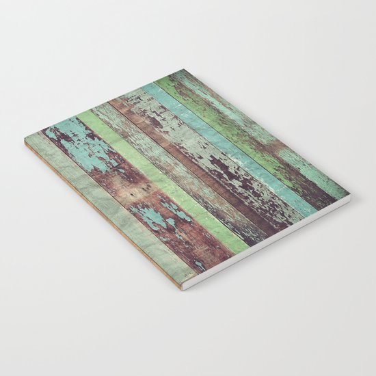 Wooden Vintage  Notebook