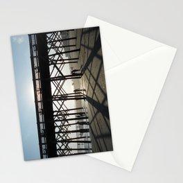 Folly Beach Pier Shadows Stationery Cards