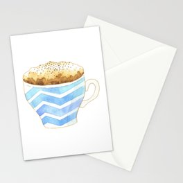 Capuccino Foam Cup Stationery Cards