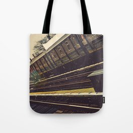 Meet me in the city Tote Bag