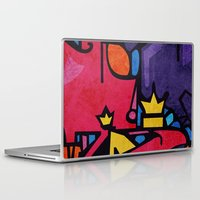 crown Laptop & iPad Skins featuring Crown by Arcturus