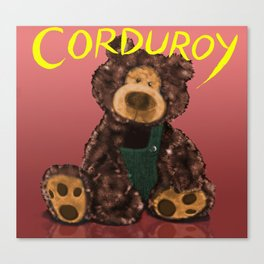 Corduroy Canvas Print
