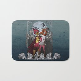 The Angels take the Ponds Bath Mat