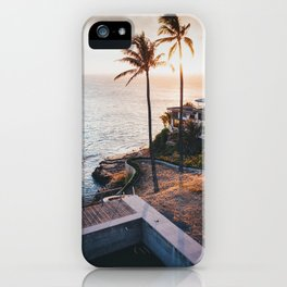Hawaii Lookout iPhone Case