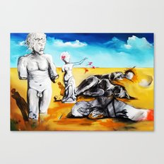 Shattered Limbs to Shattered Souls Canvas Print