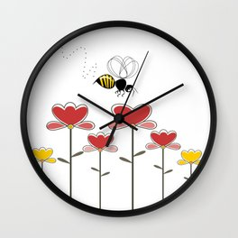 Bee loved Wall Clock