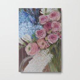 Morpeth Flowers Close Metal Print