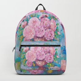 Pink Dreamy Roses Backpack