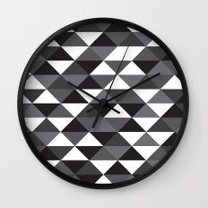 Triangle Pattern #4 Wall Clock