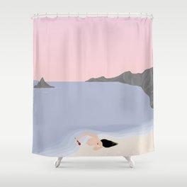 Hypnos // Oceanius Shower Curtain