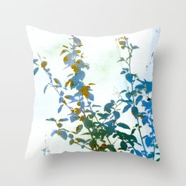 Botanical Bouquet Throw Pillow