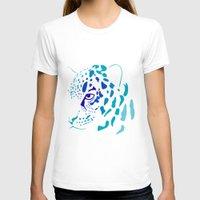 jaguar T-shirts featuring Jaguar by Icela perez bravo