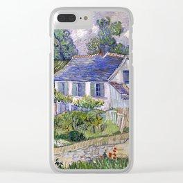 Vincent Van Gogh Houses At Auvers Clear iPhone Case
