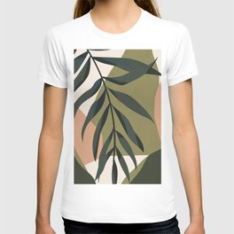 Tropical Leaf- Abstract Art T-shirt
