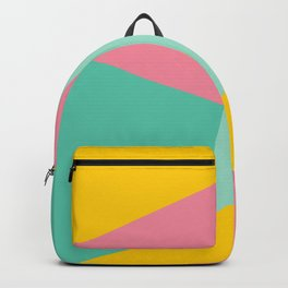 Bight Abstract Geometric Pattern Backpack