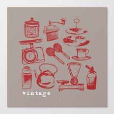 kitchen vintage Canvas Print