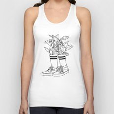 Where have all the flowers gone? Unisex Tank Top