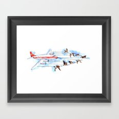 Air Canada Goose Framed Art Print