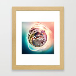 Planet NorthShore Framed Art Print
