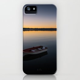 Sunrise over Knysna Lagoon in Western Cape, South Africa iPhone Case