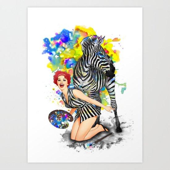 Colorphobia Art Print