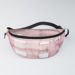 141203 Abstract Watercolor Block 58 Fanny Pack