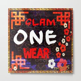 Slam One Wear Chinese Garden Metal Print