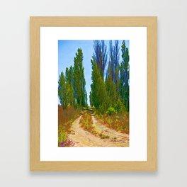 Paradise Road Framed Art Print