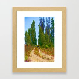 Paradise Road Framed Art Print