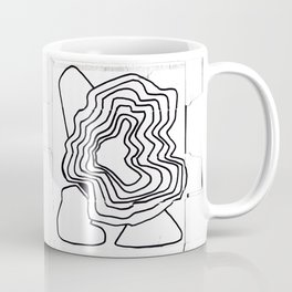 From Simplicity to Complexity - [Emanating Intensifies] Coffee Mug