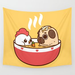 Chicken Noodle Puglie Soup Wall Tapestry