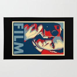 "Quentin Tarantino ""Film"" Poster Rug"