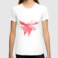 moose T-shirts featuring Moose  by polona hocevar skofic