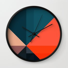 Geometric 1713 Wall Clock