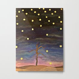 Partially Stars Metal Print