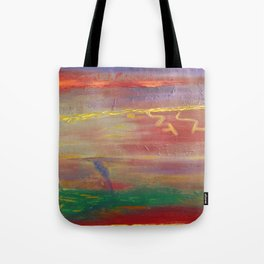 Edge Of The Storm Tote Bag