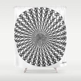 spiral 7 Shower Curtain