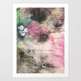 your abstract is wack-stract. Art Print