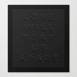 Love Will Tear Us Apart - 1 Canvas Print