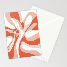 Coral Wave Stationery Cards