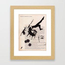 Tribute to Framed Art Print