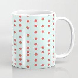 Uneven Dots Watermelon Coffee Mug