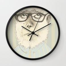 monkey gafapasta Wall Clock